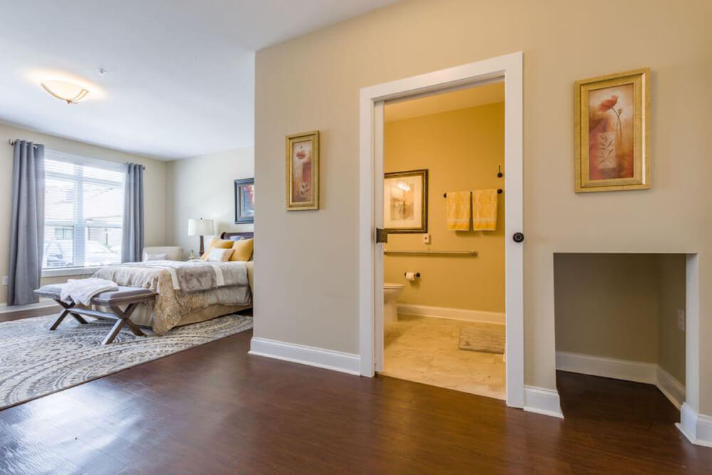 AL Cedar Suite 1B 436 Sq. Ft. Hallway