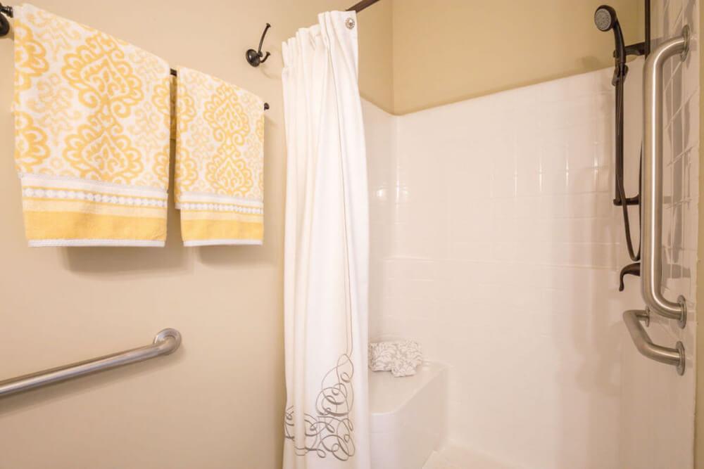AL Cedar Suite 1B 436 Sq. Ft. Shower